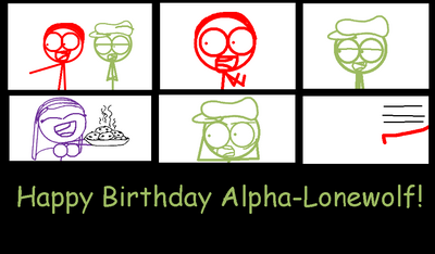 Happy Birthday Alpha!