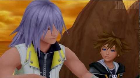 "Kingdom Hearts 2 Final mix - Sora and Riku on ""Destiny Islands"" HD 1080p"