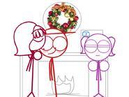 Dick Figures Christmas 5