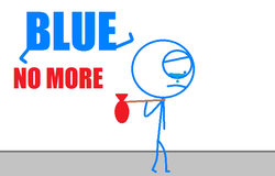 Blue No More