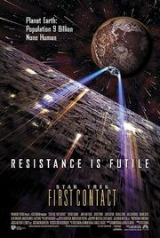DHS- Star Trek First Contact movie poster alternate version
