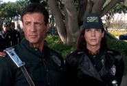 DHS- Sly Stallone and Sandra Bullock in Demolition Man