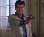 007 (Pierce Brosnan) in The World is Not Enough