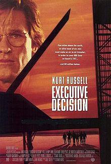 Executive decision poster