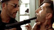 DHS- Jean Reno and Robert LaSardo in Leon the Professional