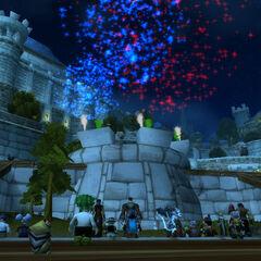 Das bombastische Feuerwerk!