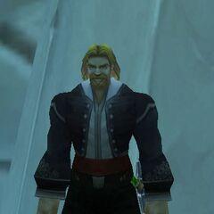 Lord von Wintergrau in seiner üblichen Reitkleidung