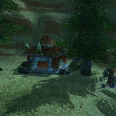 So war Vrang Wildblut's Hof der neue Rastplatz des Clans.