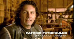 DH4- production designer Patrick Tatopoulos