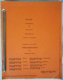 Die Hard Script