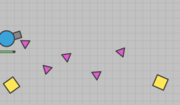 The pink triangle swarm