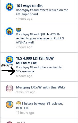 MediaWiki notifiation glitch