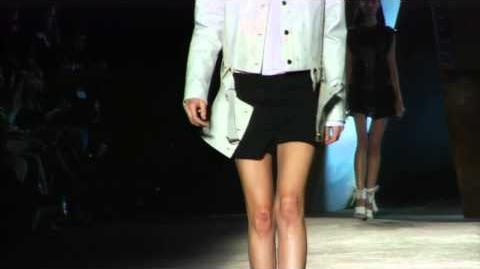 Diesel Black Gold - New York Fashion Show - Presenting SS 2013 Womenswear Collection.