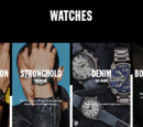 Watches spring summer 2015 campaign