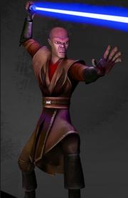 Mace as a Jedi Knight