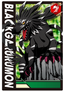 BlackGarurumon 2-009 (DCr)