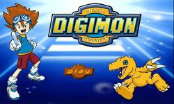 Digimon Game Start Screen