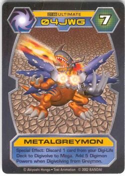 MetalGreymon DT-98 (DT)