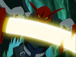 Ravemon's Sword Attacks