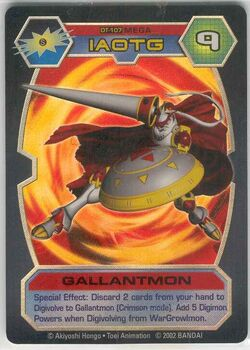 Gallantmon DT-107 (DT)