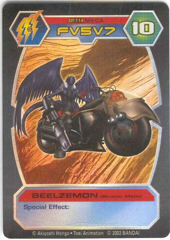 + Beelzemon Blast Mode
