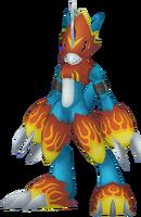 Flamedramon dm