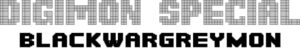 Digimon Special BlackWarGreymon