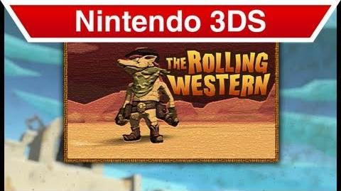 Nintendo 3DS - The Rolling Western E3 Trailer