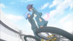 Hayate saves Ayumu (Cuties version)