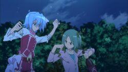 Hayate fighting drunk Yukiji