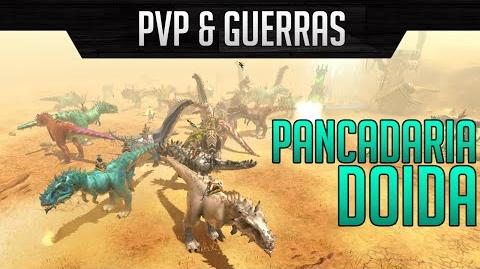 Dino Storm PvP Todos contra todos - Pancadaria doida 1 s
