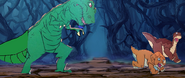 The Land Before Time (1988) - Sharptooth! (3)