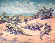 Nesting Protoceratops