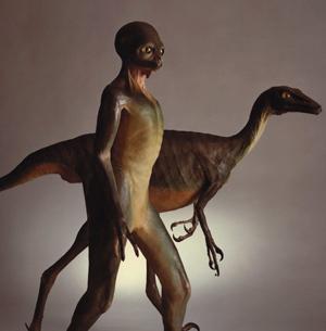 Dinosauroid Troodon300 SMALL
