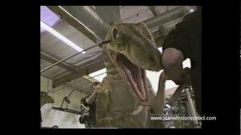 JURASSIC PARK III - Raptor Attack Rehearsal - BEHIND-THE-SCENES