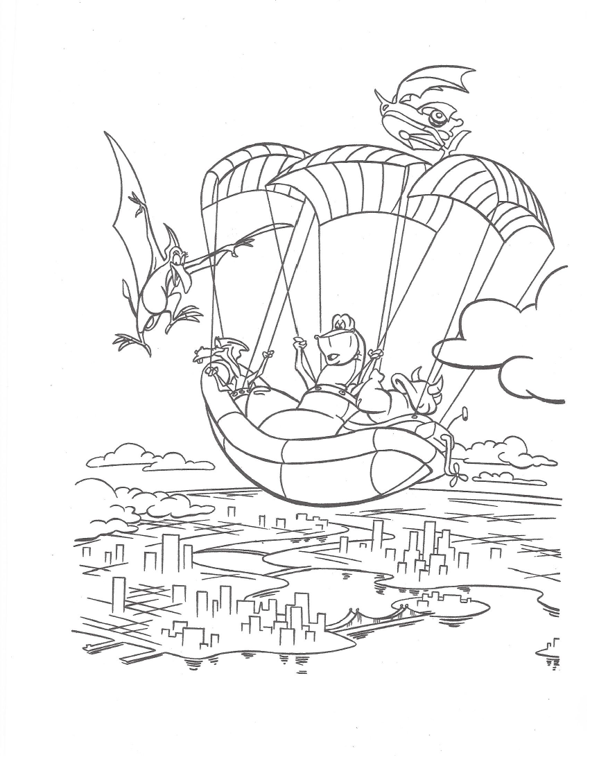 image we u0027re back coloring page 6 png dinosaur wiki fandom