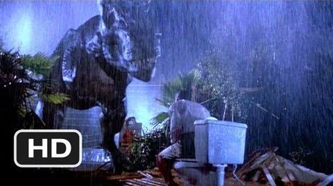 Jurassic Park (4 10) Movie CLIP - Tyrannosaurus Rex (1993) HD