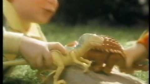 80's Playskool Definitely Dinosaurs Commercial