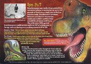 Brachiosaurus back