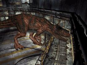 Dino crisis 2 giganotosaurus fire damage by math4dead-d72ip4d