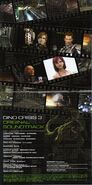 DINO CRISIS 3 ORIGINAL SOUNDTRACK - booklet pages 2-3