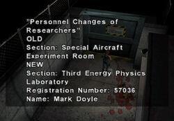 Personnel Changes (1)