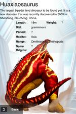 Album Rare Huaxiaosaurus