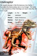 Album Super Rare Utahraptor