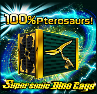 Supersonic Dino Cages