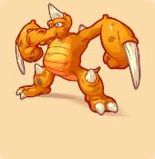 Moueffe orange