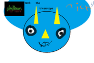 Tank the triceratops