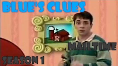 """Blue's Clues """"Mailtime"""" (Season 1) Version"""