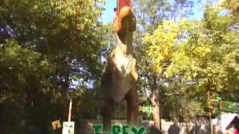Mesozoic Idol T-Rex (Week 16-final)