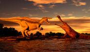 Suchomimus vs supercroc